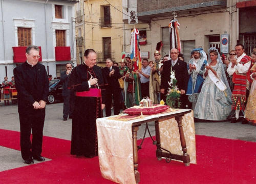 2003-09-07, Arrival of the second Relic of St. George
