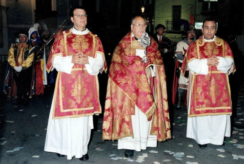 2002-09-01, Procession of the Relic