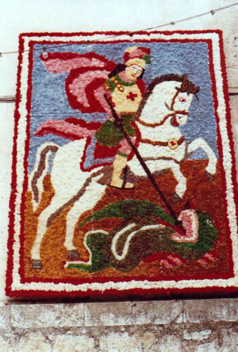 1984-04-23, Imatge de Sant Jordi