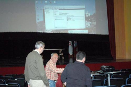 2011-04-16, Presentació de la pàgina web i dels treballs de l'arxiu de la Confraria