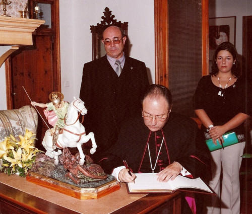2003-09-07, L'arrivo della seconda Reliquia di San Giorgio