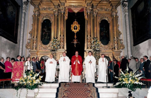 2002-09-01, Missa major de la Relíquia