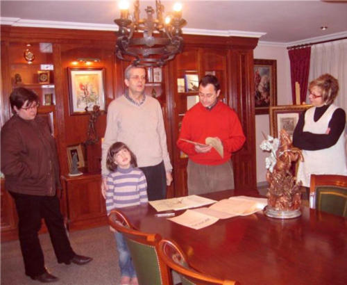 2009-03-06, Donació