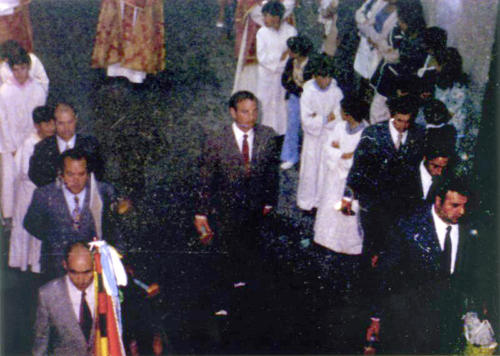 1975-04-23, Procession de Saint-Georges