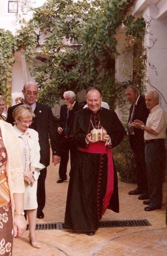 2003-03-07, Chegada da segunda relíquia de São Jorge
