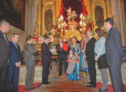 2011-04-30, Cerimônia da história 'Aí vem Sant Jordi Mariola'