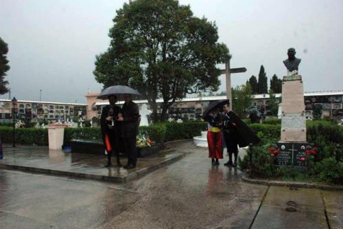 2011-05-02, cimetière Enregistrement