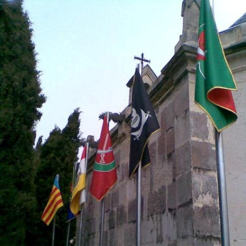 2009-04-11, Preparatius per a les festes de Sant Jordi