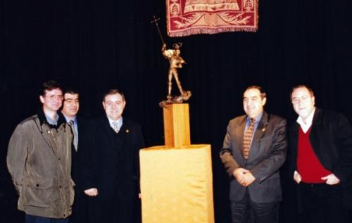 2002-01-11, Presentation of the Monument St. George