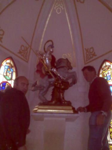 2011-04-21, Preparatius per a les festes de Sant Jordi