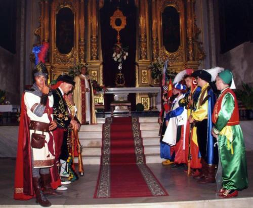 2009-09-06, Prozession der Reliquie