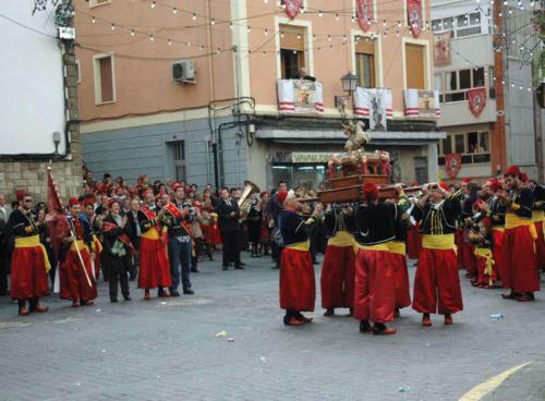 2011-05-02, Trasllat dels Sant Jordiets