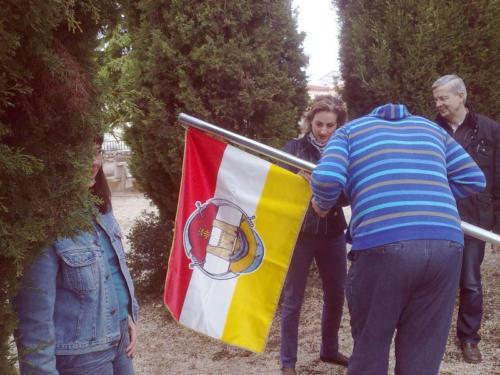 2011-04-23, I preparativi per la festa di Sant Jordi