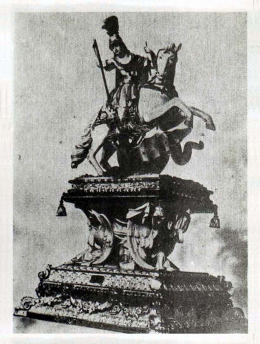 1977-04-25, Imatge de Sant Jordi