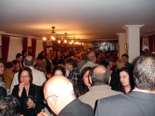 2009-04-05, Presentazione Ecco che arriva la storia Sant Jordi