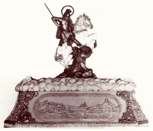 1943-04-23, Imatge de Sant Jordi