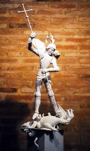 2000-10-01, Visita als projectes del Monument de Sant Jordi