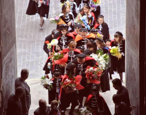 2011-04-29, Ofrenda de flores